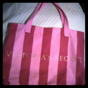Big Victoria secret tote bag/overnite